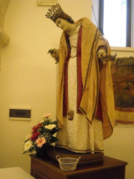 Festa di Santa Lucia presso la chiesetta bizantina di San Pietro dei Greci