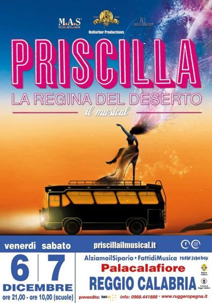 """""""Priscilla la Regine del Deserto"""" la prima assoluta del musical in Calabria"""