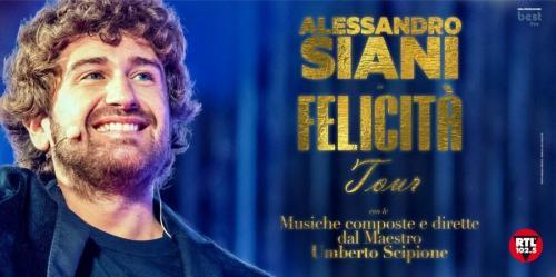Alessandro Siani in scena al Teatro Politeama Greco di Lecce