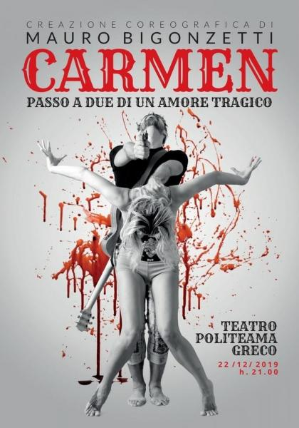 Carmen, Passo a Due di un Amore Tragico