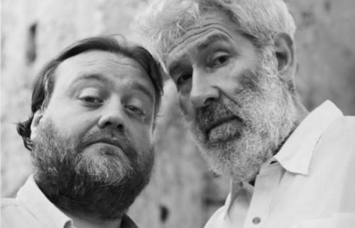 """Alessandro Benvenuti e Stefano Fresi in """"Donchisci@tte"""""""