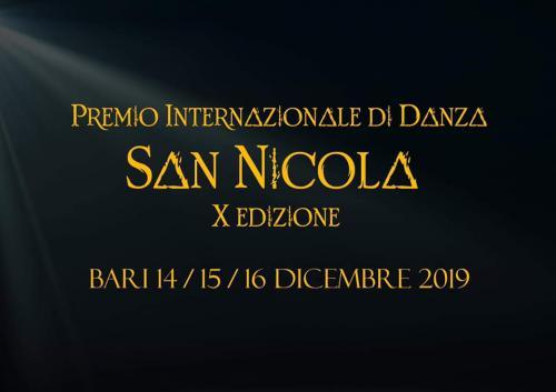 X Premio Internazionale di Danza San Nicola