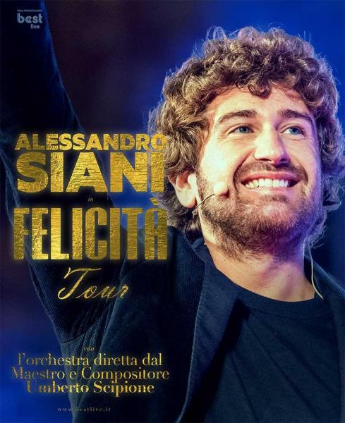 Alessandro Siani in scena a Bari