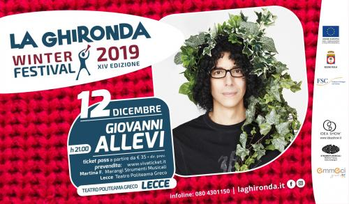 Ghironda Winter Festival XIV: Giovanni Allevi Hope Christmas Tour