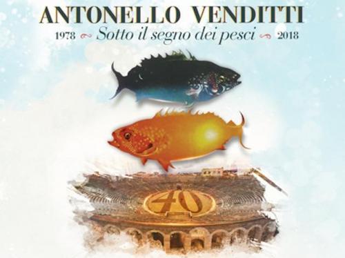 Antonello Venditti torna live concert a Roma