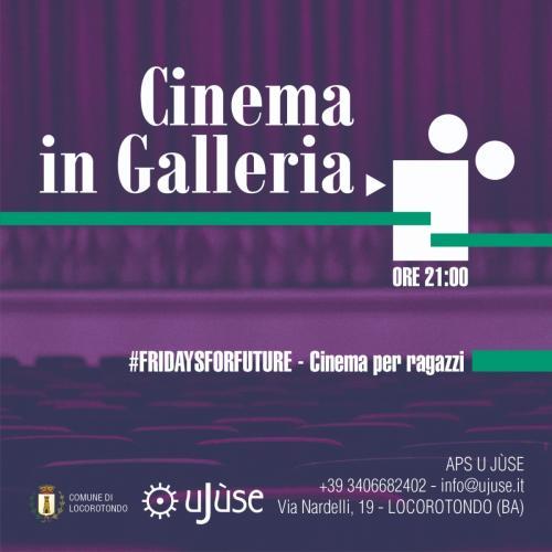Cinema in Galleria #fridaysforfuture – Cinema per ragazzi | OKJA