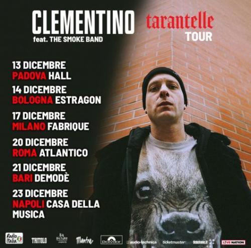Clementino live all'Atlantico di Roma