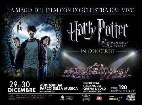 Harry Potter e il Prigioniero di Azkaban in Concerto a Roma