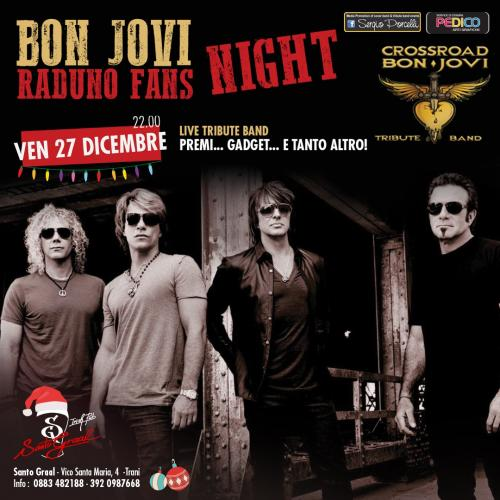 BON JOVI Fans Christmas metting & live tribute band a Trani