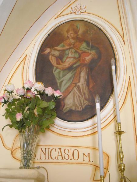 Ricorrenza di San Nicasio presso la cappella di Santa Maria al Tempio