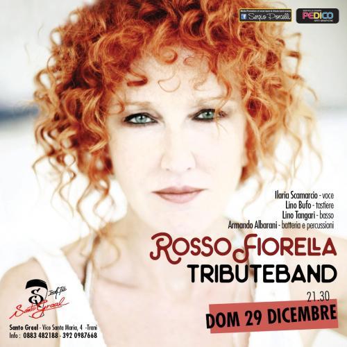 Rosso Fiorella tribute band a Trani