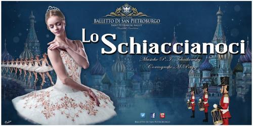 LO SCHIACCIANOCI - Musica di P.I. Cajkovskij - Coreografia di Marius Petipa