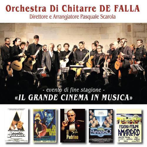 Orchestra Di Chitarre De Falla: Il Grande Cinema in Musica