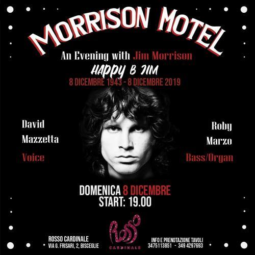 An Evening whit Jim Morrison -musica e parole a Bisceglie
