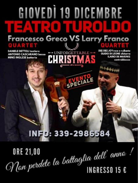 FRANCESCO GRECO vs LARRY FRANCO - Unforgettable Christmas...