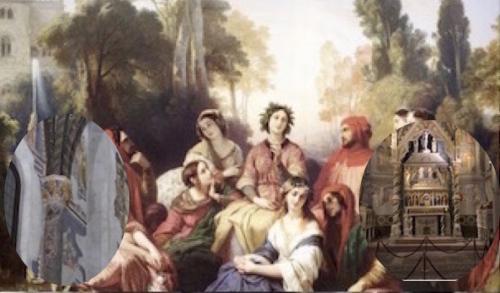 La Napoli Trecentesca  di Boccaccio e Petrarca
