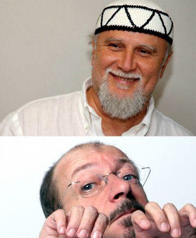 """Moni Ovadia, Dario Vergassola in """"Un Ebreo un Ligure e L'ebraismo"""""""