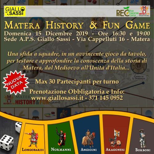 Matera History&Fun Game