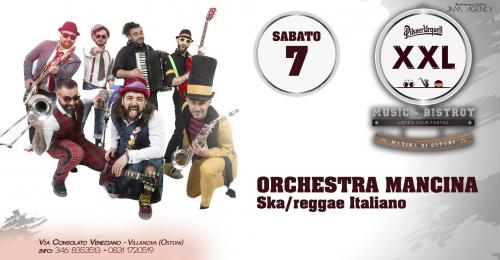 Orchestra Mancina at XXL Music Bistrot