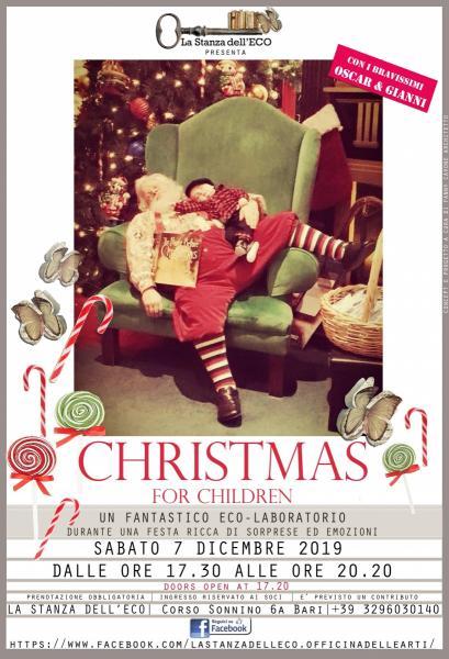 """La stanza dell'Eco presenta """"CHRISTMAS FOR CHILDREN """""""