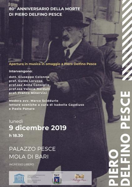 Convegno per l'80° Anniversario della morte di Piero Delfino Pesce