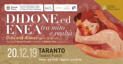 Didone ed Enea - Tra mito e realtà in scena a Taranto