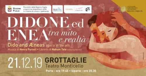 Didone ed Enea - tra mito e realtà in scena a Grottaglie