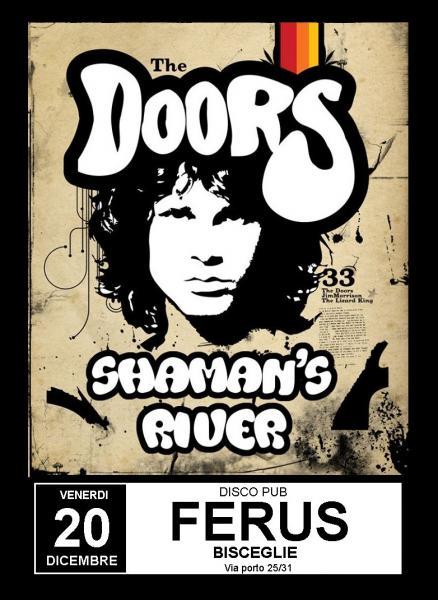 """The DOORS Live Tribute con gli """" SHAMANS RIVER """""""