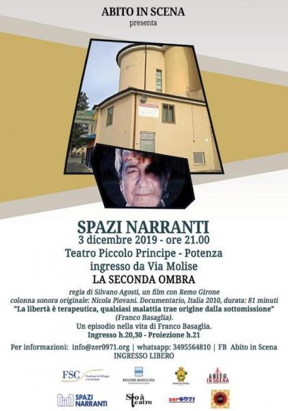 Spazi Narranti, proiezione del film La Seconda Ombra