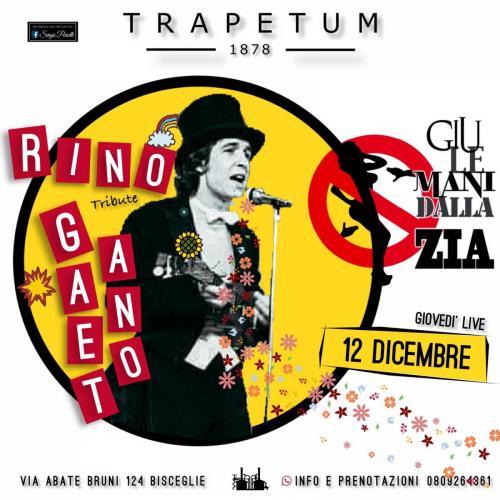 Giù le mani dalla zia - Rino Gaetano tribute a Bisceglie
