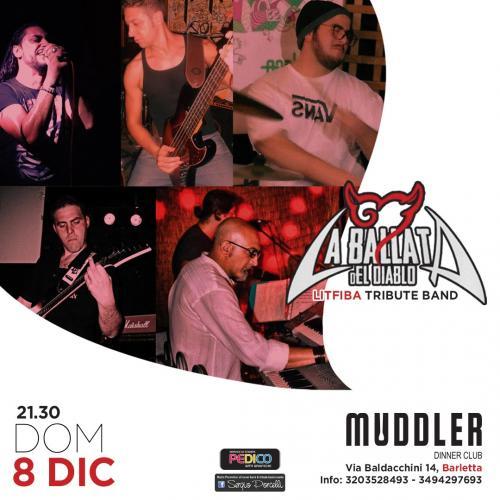 La BaLLata deL DiabLo Litfiba tribute band live a Barletta
