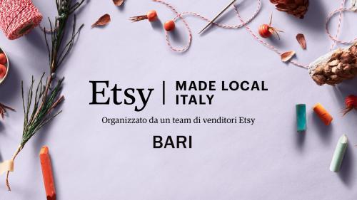 Etsy Made Local - BARI 2019