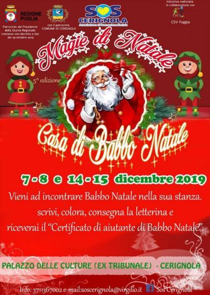 Magie di Natale 2019 a Cerignola