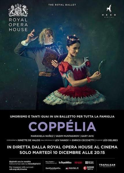 """""""Coppelia"""" in Diretta da Londra alla Multisala Paolillo"""