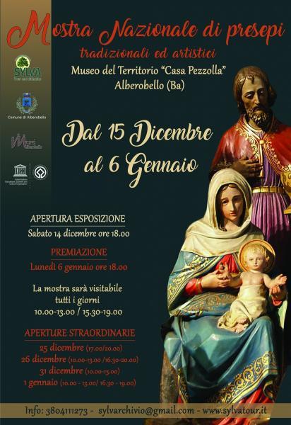 Mostra Nazionale di Presepi Tradizionali ed Artistici