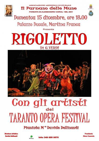 """Concerto Lirico - """"Rigoletto"""" di Giuseppe Verdi"""