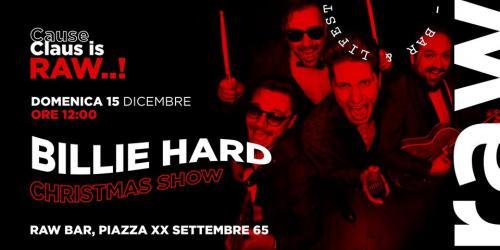 Billie Hard Christmas Show live at Raw Bar____70042