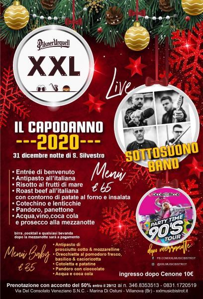Capodanno 2020 Sottosuono + Ciccio Riccio at XXL