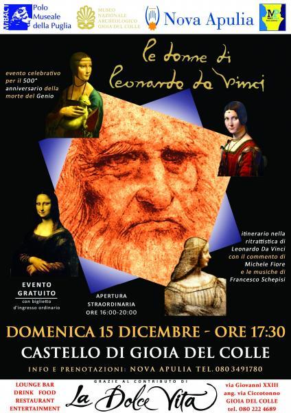 Le Donne di Leonardo Da Vinci - evento celebrativo gratuito