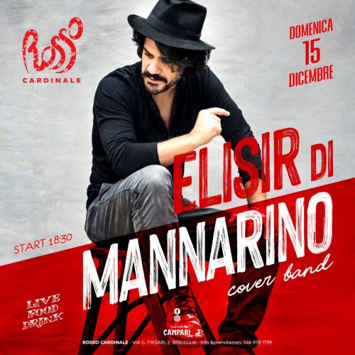 Elisir di Mannarino - cover band - acoustic live a Bisceglie