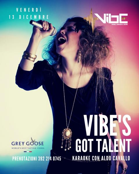 Vibe's Got Talent - Karaoke