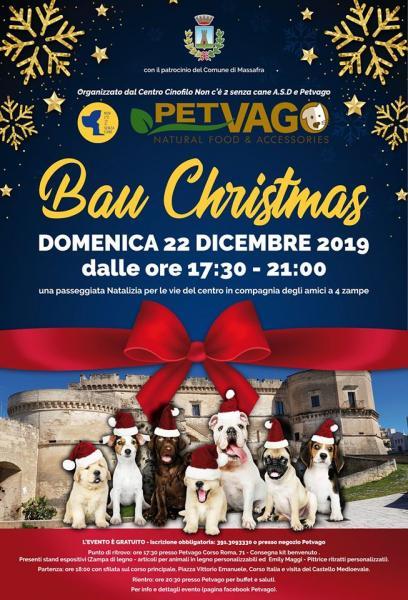 Bau Christmas 2019 - Passeggiata Natalizia a 4 zampe