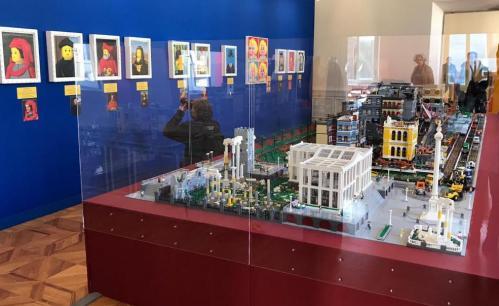 I LOVE LEGO, la mostra a Roma