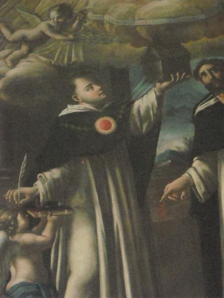 Memoria di San Tommaso d'Aquino domenicano presso la chiesa di San Domenico