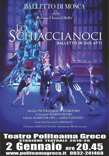 "Russian Classical Ballet in ""Lo Schiaccianoci"""
