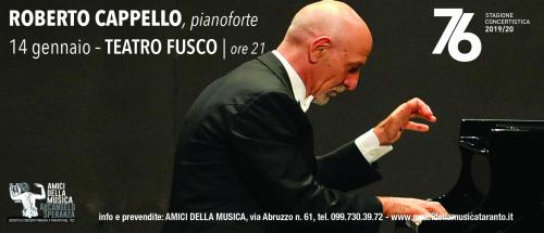 ROBERTO CAPPELLO, pianoforte