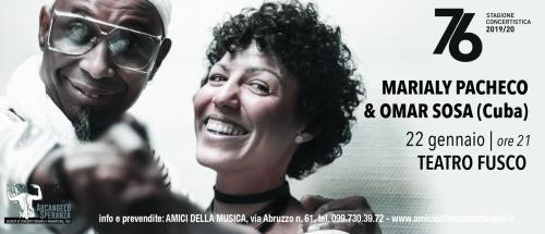 MARIALY PACHECO & OMAR SOSA (Cuba) jazz – prima assoluta