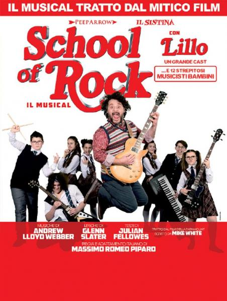 School of Rock, il musical al Team di Bari