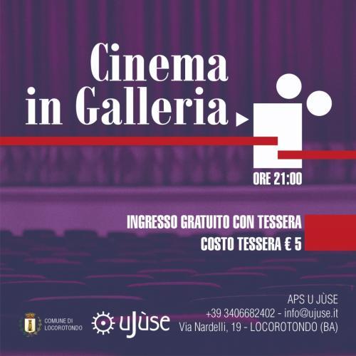 Cinema in Galleria | LA GRANDE SCOMMESSA