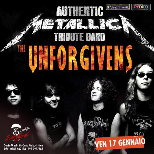 Unforgivens - Metallica tribute band live a Trani